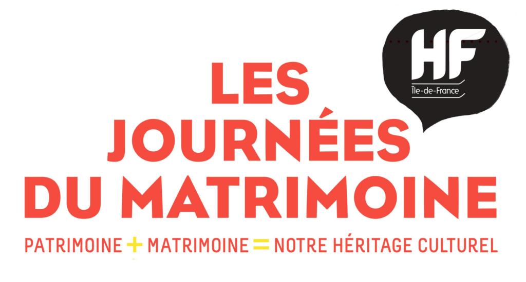 6ème édition des Journéesdu Matrimoine, 19 et 20 septembre 2020